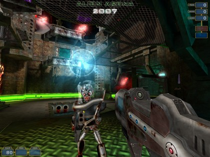 Alien Arena 2011 action free game