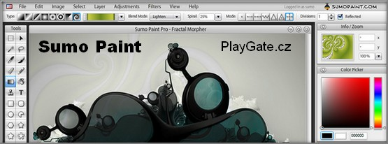 Sumo Paint - upravy fotografií on-line